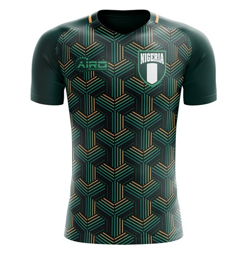 T-Shirt Nigeria Fussball 2018-2019 Third