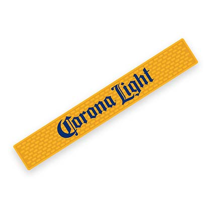 Corona Light Bier Rubber Bar Matte