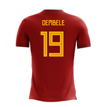T-Shirt Belgien Fussball 2018-2019 Home