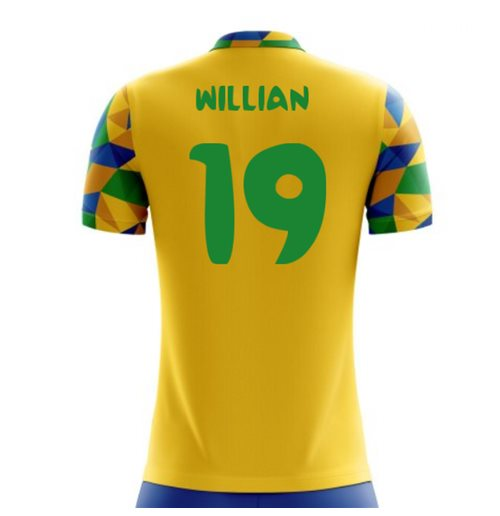 T-Shirt Brasilien Fussball 2018-2019 Home