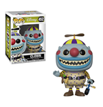 Nightmare before Christmas POP! Movies Vinyl Figur Clown 9 cm