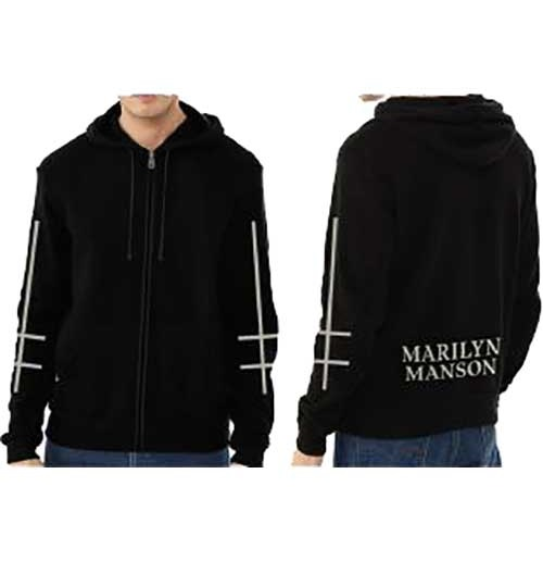 Marilyn Manson Sweatshirt unisex - Design: Cross Logo