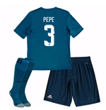 Fußballtrikot-Set für Kinder Real Madrid 2017-2018 Third