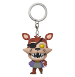 Five Nights at Freddy's Pizzeria Simulator Pocket POP! Vinyl Schlüsselanhänger Rockstar Foxy 4 cm