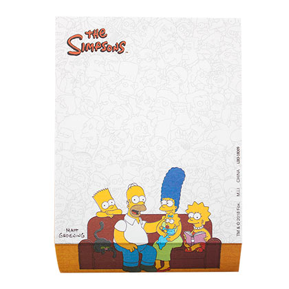 Mouse Pad Die Simpsons Family