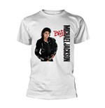 Michael Jackson T-Shirt BAD WHITE