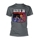 Husker Du T-Shirt CANDY APPLE GREY COVER