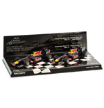 DOUBLE SET RED BULL RB6 2010 CONSTRUCTORS WORLD CHAMPION