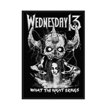 Wednesday 13  Aufnäher - Design: What the Night Brings