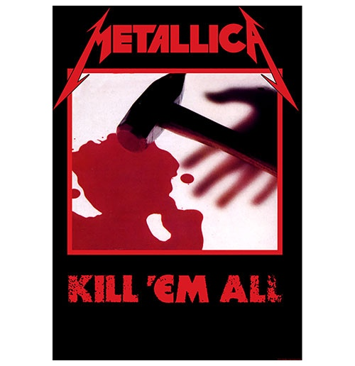 Metallica Poster - Design: Kill 'em all
