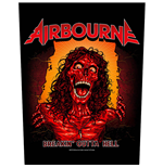Airbourne  Aufnäher - Design: Breakin' Outa Hell