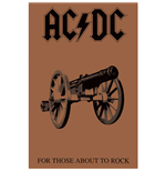 AC/DC Poster - Design: For Those About To Rock