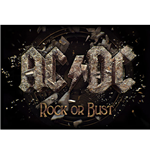 AC/DC Poster - Design: Rock Or Bust