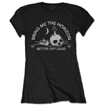 Bring Me The Horizon  T-Shirt für Frauen - Design: Happy Song