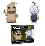 Nightmare Before Christmas VYNL Vinyl Figuren Doppelpack Oogie Boogie & Behemoth 10 cm