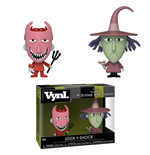 Nightmare Before Christmas VYNL Vinyl Figuren Doppelpack Lock & Shock 10 cm