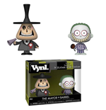 Nightmare Before Christmas VYNL Vinyl Figuren Doppelpack Mayor & Barrel 10 cm