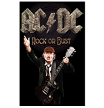 AC/DC Poster - Design: Rock Or Bust / Angus