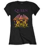 T-Shirt Queen für Frauen - Design: Gradient Crest