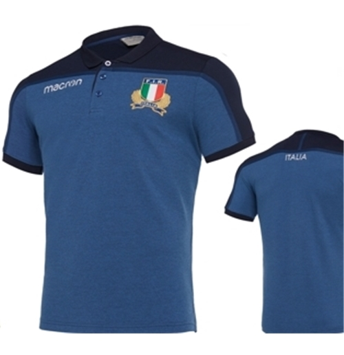 Polohemd Italien Rugby 322434