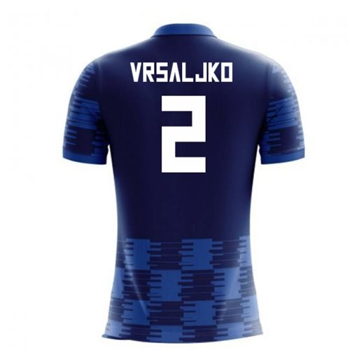 T-Shirt Kroatien Fussball 2018-2019 Away