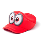 Kappe Super Mario NINTENDO Super Mario Bros. Odyssey Cappy Kids Curved Hat, Unisex, rot