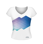 Ultimate Guard Girlie T-Shirt Gradient Größe S