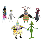 Nightmare before Christmas Select Actionfiguren 18 cm Serie 6 Sortiment (6)