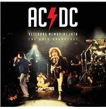 Vinyl Ac/Dc - Veterans Memorial 1978 (Ltd Ed)