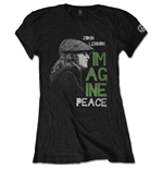 John Lennon T-Shirt für Frauen - Design: Imagine Peace