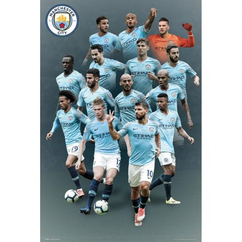 Manchester City FC Poster