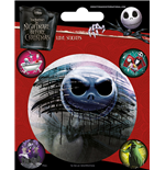 Aufkleber Nightmare before Christmas 324450