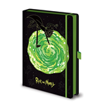 Rick and Morty Premium Notizbuch A5 Portal