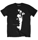 T-Shirt Amy Winehouse : Schal Portrait Schwarz (T-SHIRT Unisex)