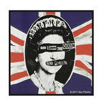 Sex Pistols Aufnäher - Design: God Save The Queen
