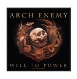 Arch Enemy  Aufnäher - Design: Will to Power