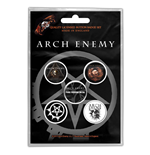 Arch Enemy  Brosche - Design: Will To Power