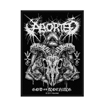 Aborted  Aufnäher - Design: God of Nothing