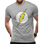 The Flash T-Shirt - Design: Distressed Logo