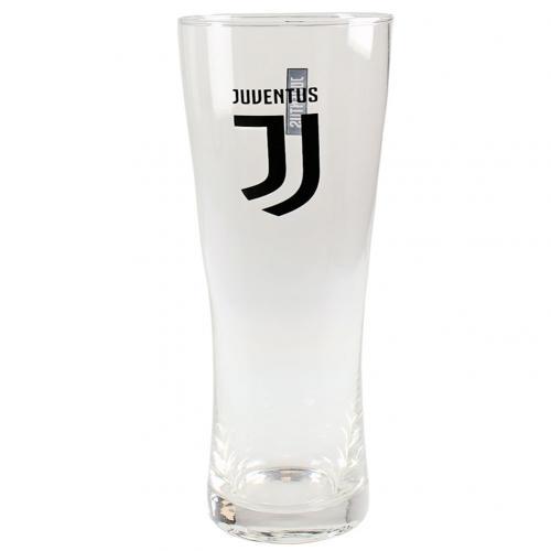 Glas Juventus  F.C. Tall Beer Glass