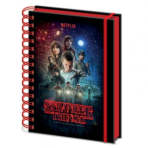 Notizblock Stranger Things 327596