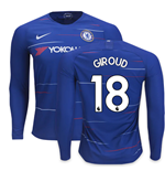 Chelsea langärmeliges T-Shirt 2018-2019 Home