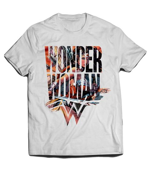 T-Shirt Wonder Woman Symbol