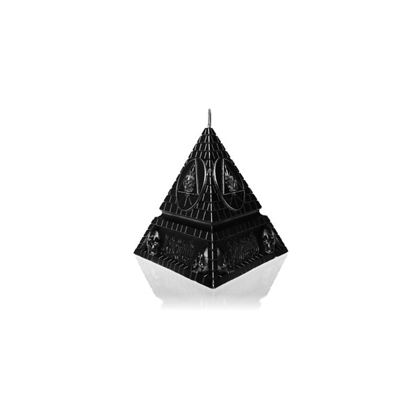 Behemoth Kerze UNHOLY TRINITY PYRAMID - BLACK METALLIC
