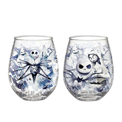 Nightmare before Christmas Glas