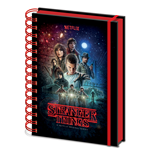 Notizblock Stranger Things: One Sheet A5 Metallic Notebook