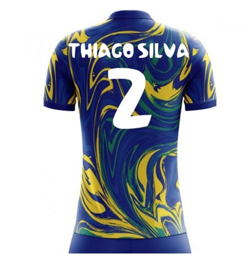 Brasilien Fussball T-Shirt 2018-2019 Away
