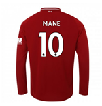 Liverpool FC langärmeliges T-Shirt 2018-2019 Home