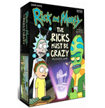 Rick and Morty Multiverse Brettspiel The Ricks Must Be Crazy *Englische Version*