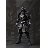 Marvel Comics Meisho Manga Realization Actionfigur Onmitsu Black Spider-Man 19 cm